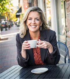 Lindsey Ellison, relationship coach